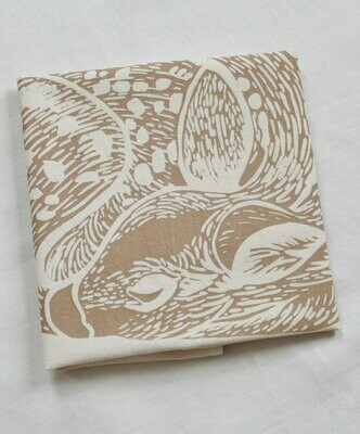 Hearth & Harrow Organic Cotton Tea Towel - Sleeping Deer