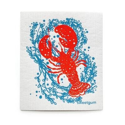 Compostable Dishcloth - Lobster