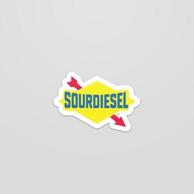 Sour diesel sticker 3x3
