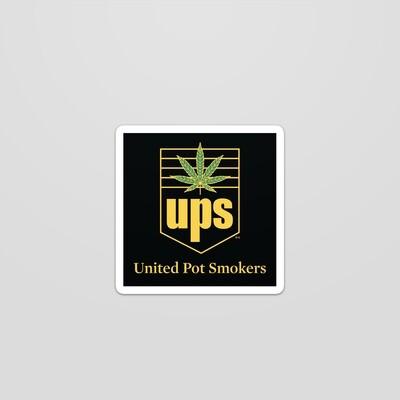 UPS Sticker