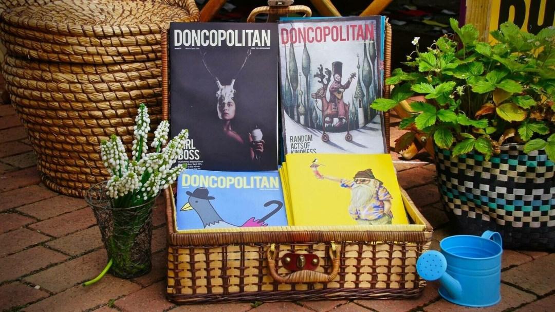 Doncopolitan Back Issues