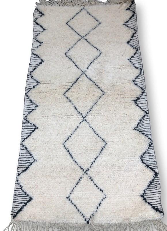 Beni Ourain rug 90 x 180cm