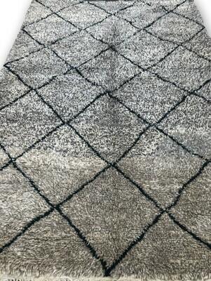 Beni Ourain Wool Rug 250 x 166 cm