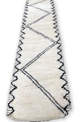 Beni Ourain Wool Runner