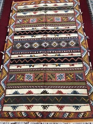 Handwoven Taznakht Berber Glaoui Moroccan Rug 170 x 102cm