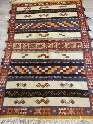 Handwoven Taznakht Berber Glaoui Moroccan Rug 150 x 103cm