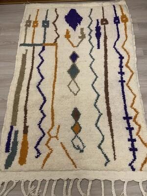 Handmade Azilal Moroccan Rug 160 x 100cm
