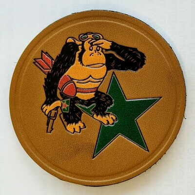 LEATHER TEXAS DEFENSE GUARD - AIR BRANCH PATCH