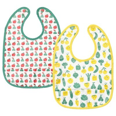 MATVRA BIB FRUIT & VEGETABLES PATTERN