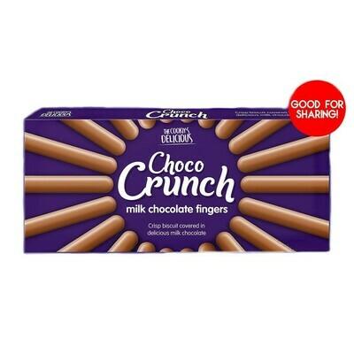 CHOCO CRUNCH MILK CHOCOLATE FINGERS