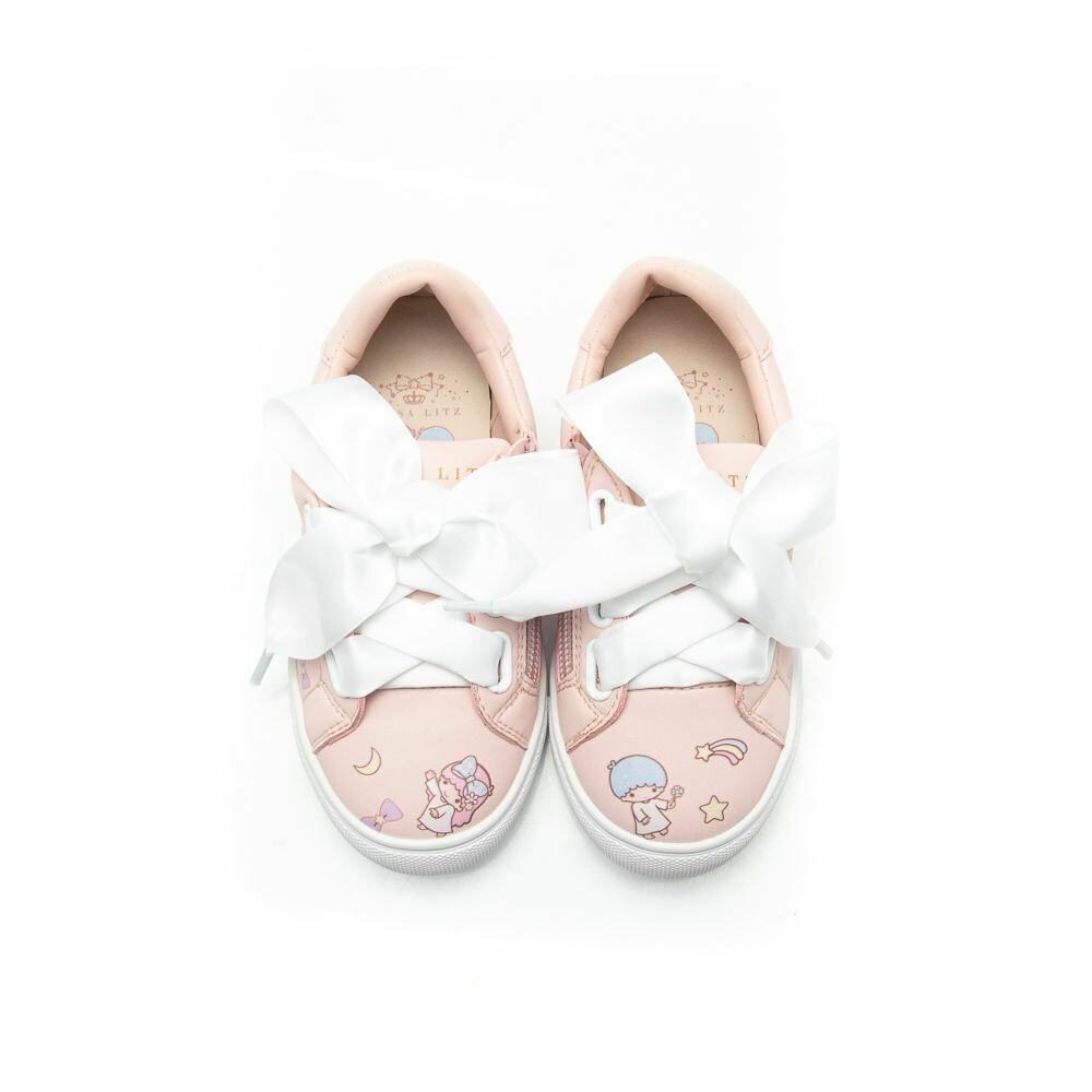 ELISA LITZ LITTLE TWIN STARS PRINT SNEAKERS - KIDS
