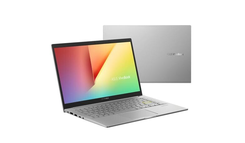 ASUS VIVOBOOK 14 (M413IA-EB361T) 14-INCH RYZEN 5 8GB RAM + 512GB SSD LAPTOP - TRANSPARENT SILVER