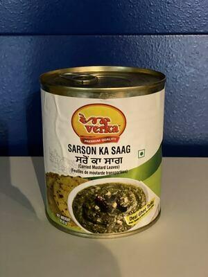 Verka Sarson Ka Saag 850 gm