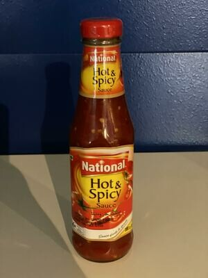 NATIONAL HOT&SPICY SAUCE 300GM