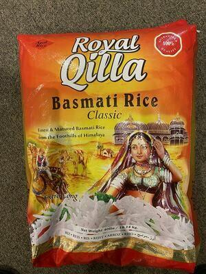 ROYAL QILLA BASMATI CLASSIC RICE 18.14 KG
