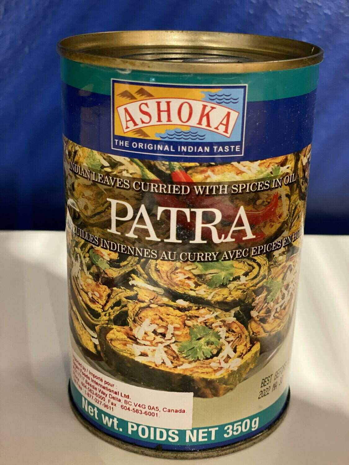 ASHOKA PATRA INDIAN LEAVES CURRIED WITH SPICES IN OIL 350GM