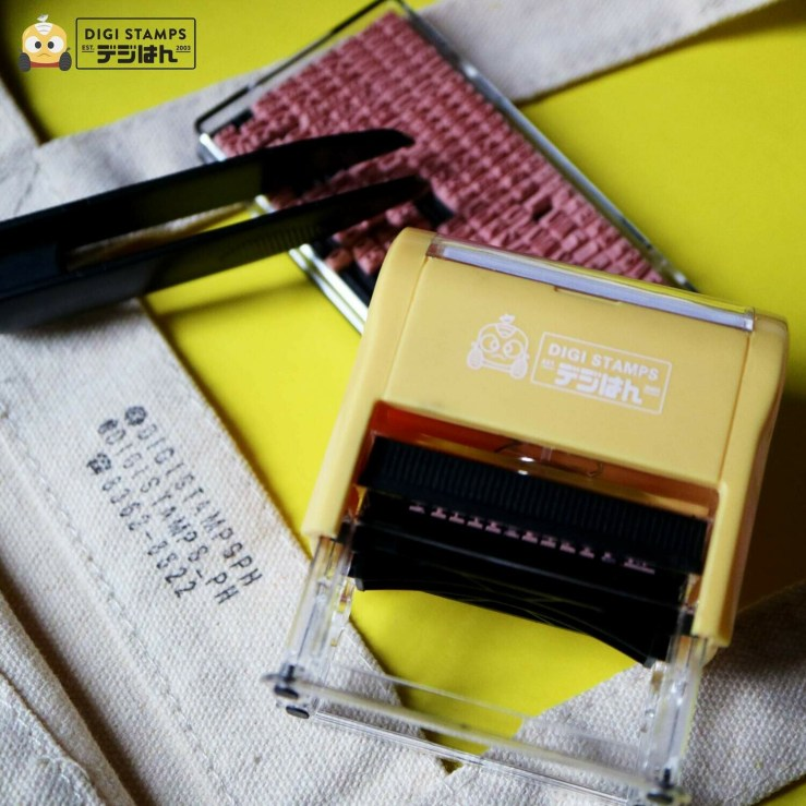 DIY Paper and Fabric Marker Stamp