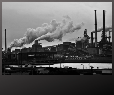 Smoke on the water- Industrial Images