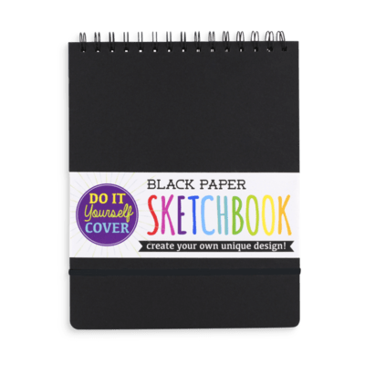 Black DIY Sketchbook