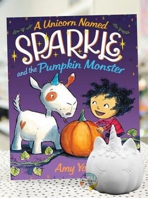 Sparkle Unicorn Pumpkin Read-Aloud + Pottery! 10/6-10:30am