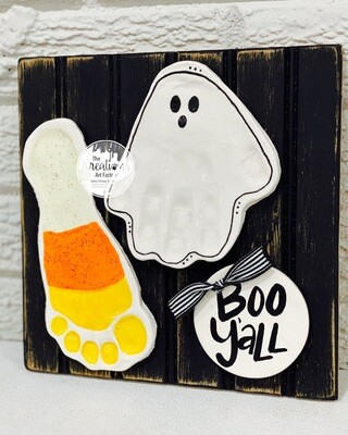 Ghost+Candy Corn=BOO Y'all