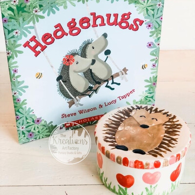"""""""Hedge-hugs""""🦔 ~February 2nd After School• 3:30-4:30pm"""