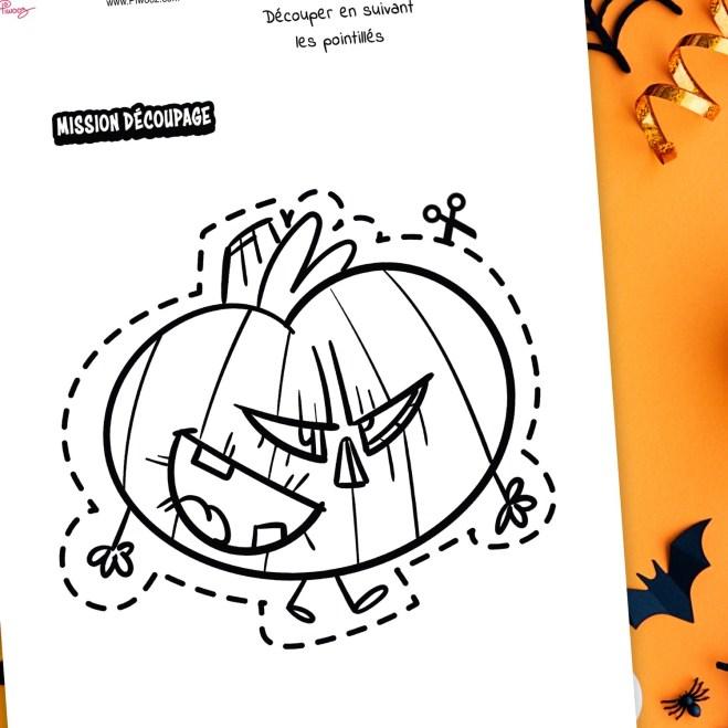 Halloween - Citrouille Malicieuse (à télécharger)