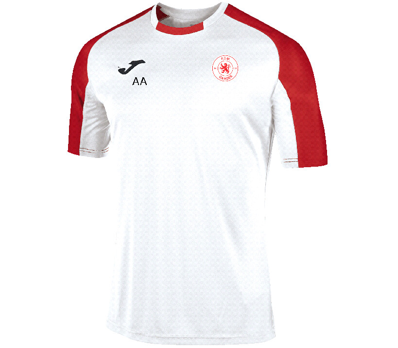 MAILLOT ROUGE-BLANC M/C