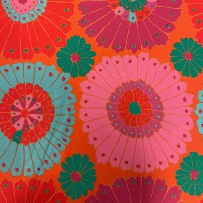 Carpet in Red 3-Yard Precut 108