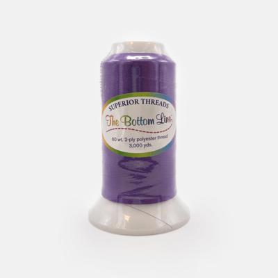 The Bottom Line Quilting Thread #606 Dark Purple