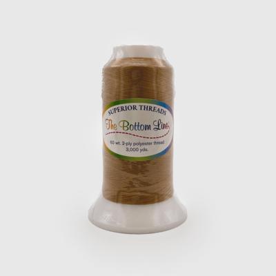 The Bottom Line Quilting Thread #618 Medium Brown
