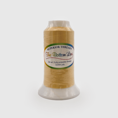 The Bottom Line Quilting Thread #619 Tan