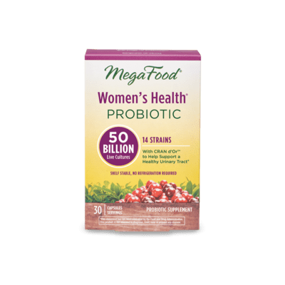 Megafood Shelf Stable Womens Probiotic 30serv