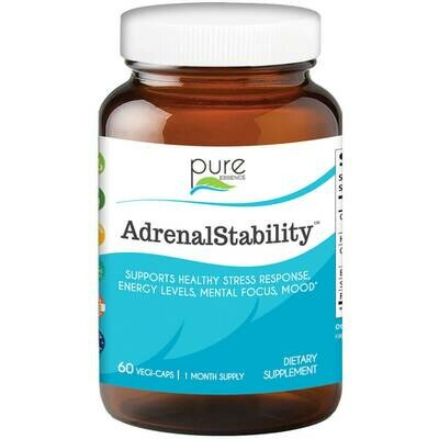 Pure Essence Adrenal Stability 60vcap