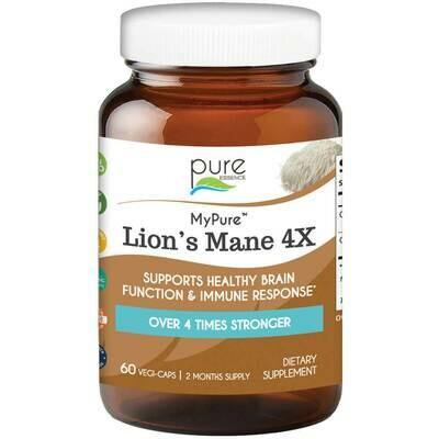 Pure Essence Lions Mane 4X 60