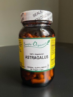 Simple Organics Astragulus 90cap