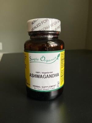 Simple Organics Ashwagandha 60cap liquid