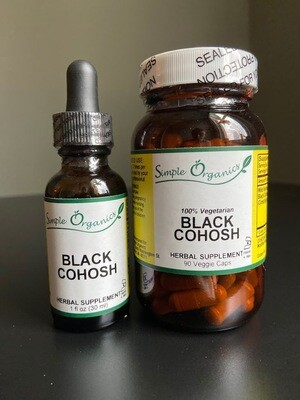 Simple Organics Black Cohosh 90cap