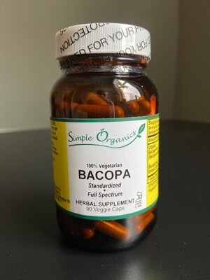 Simple Organics Bacopa 90cap