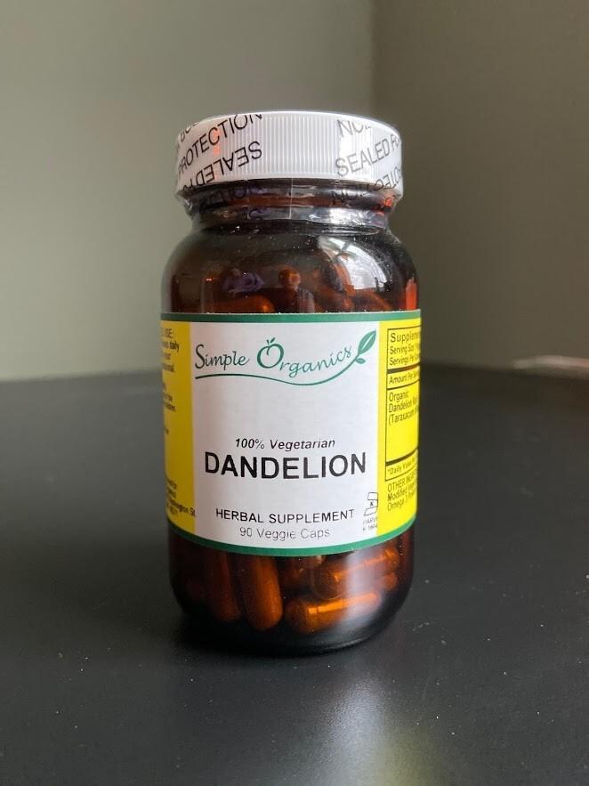 Simple Organics Dandelion 90cap