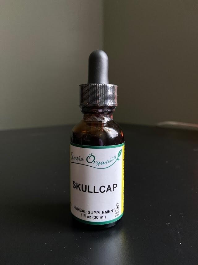 Simple Organics Skullcap 1oz