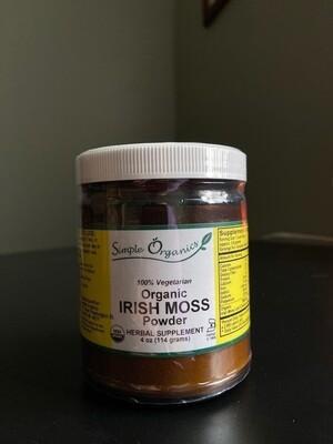 Simple Organics Irish Moss Powder Organic