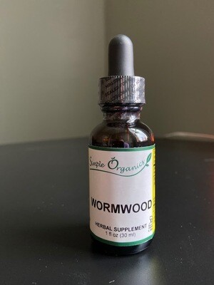 Simple Organics Wormwood 1oz