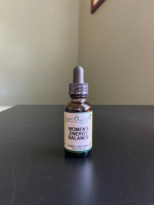 Simple Organics Womens Energy Balance 1oz