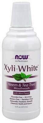 NOW Xyliwhite- Neem Tea Tree Mouthwash 16oz