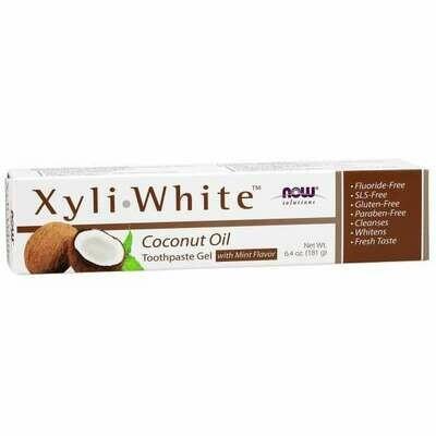 NOW Xyliwhite- Coconut Toothpaste 6.4oz