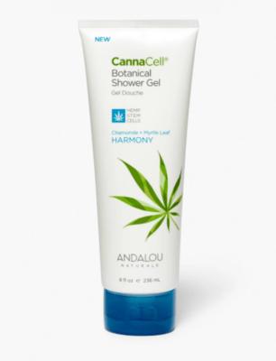 Andalou Cannacell Shower Gel Harmony 8oz