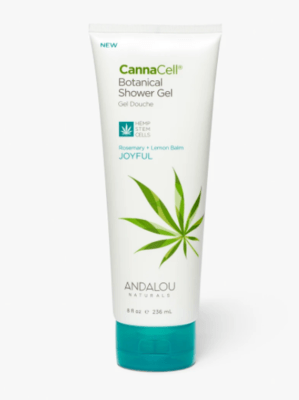 Andalou Cannacell Shower Gel Joyful 8oz
