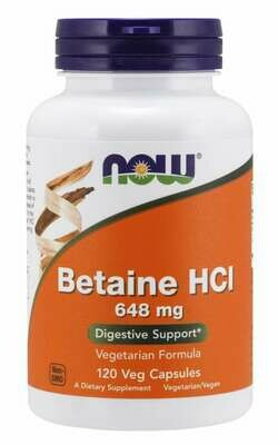 NOW- Betaine HCl