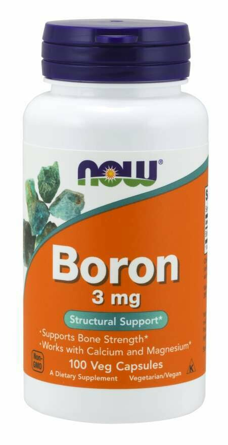 NOW Boron 3mg 100cap